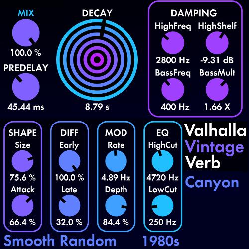 valhalla vintage reverb on vocals